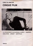 Carl Th Dreyer: Cinque Film, Einaudi. Copertina