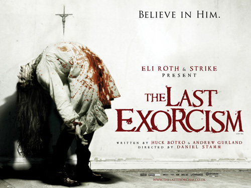 The Last Exorcism: poster vietato