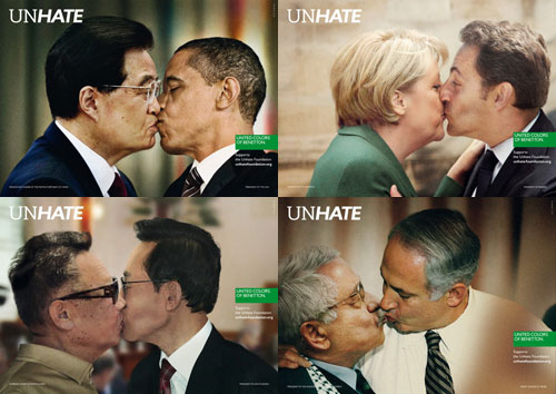 Benetton UnHate campaign series